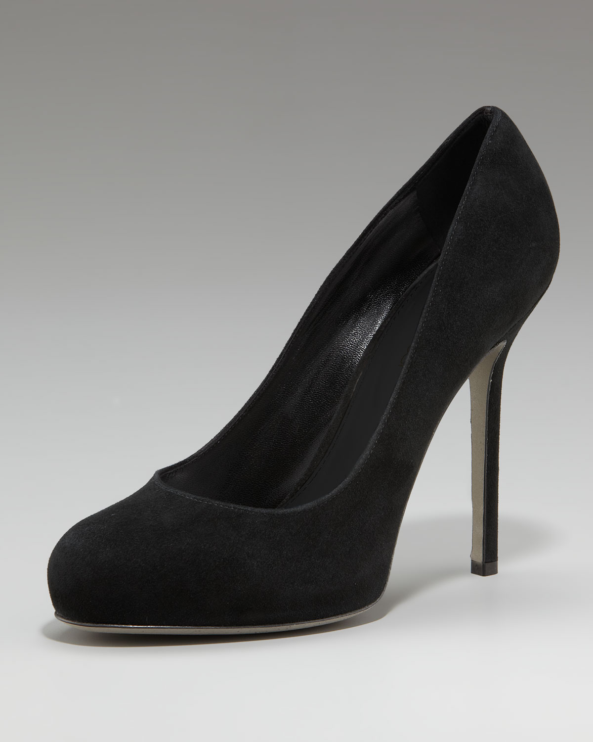 outlet Manchester cheap sale supply Sergio Rossi Rounded-Toe Suede Pumps cheap visit collections AMY3IN
