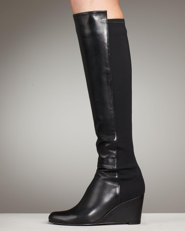 Stuart Weitzman high heel combat boots discount for sale Manchester sale online supply online jkLh4fy