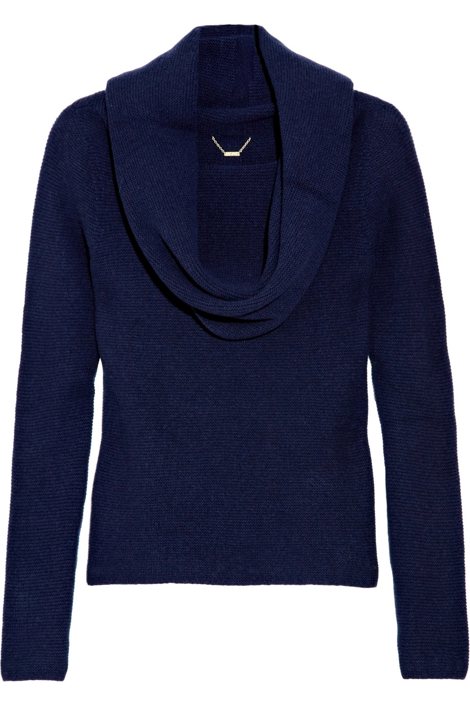 The row Tiffany Cowl-neck Cashmere Sweater in Blue | Lyst