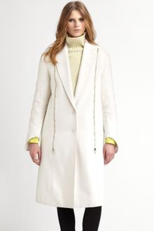 Alexander Wang Zippered Coat - Lyst