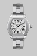 Cartier Roadster S Stainless Steel Watch On Bracelet, Large in Silver - Lyst