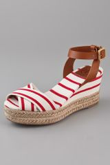 Tory Burch Karissa Wedge Sandals - Lyst