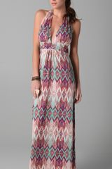 Vix Ubud Bahama Long Dress - Lyst
