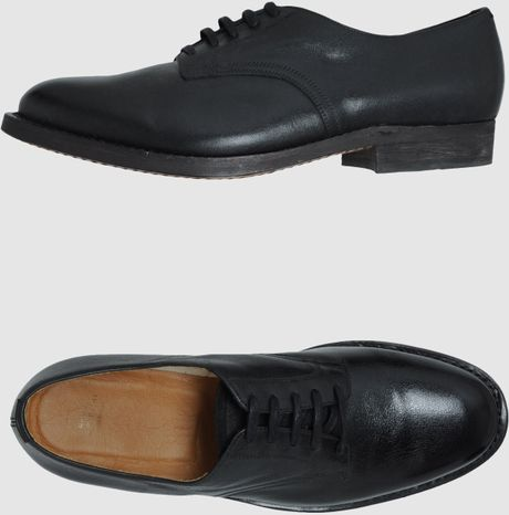 Mauro Grifoni Laced Shoes In Black For Men Lyst