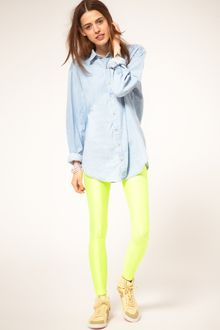 American Apparel Fluro Leggings - Lyst