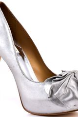 Badgley Mischka Wilda - Silver Metallic - Lyst