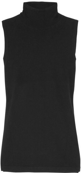 Donna Karan New York Stretch Knitted Top - Lyst