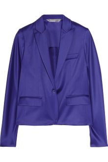 Reed Krakoff Stretch Wool-sateen and Silk Blazer - Lyst