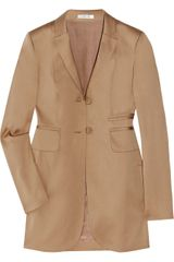 Carven Cotton-Blend Blazer - Lyst