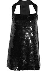 Foley + Corinna Paillette-embellished Silk Dress - Lyst
