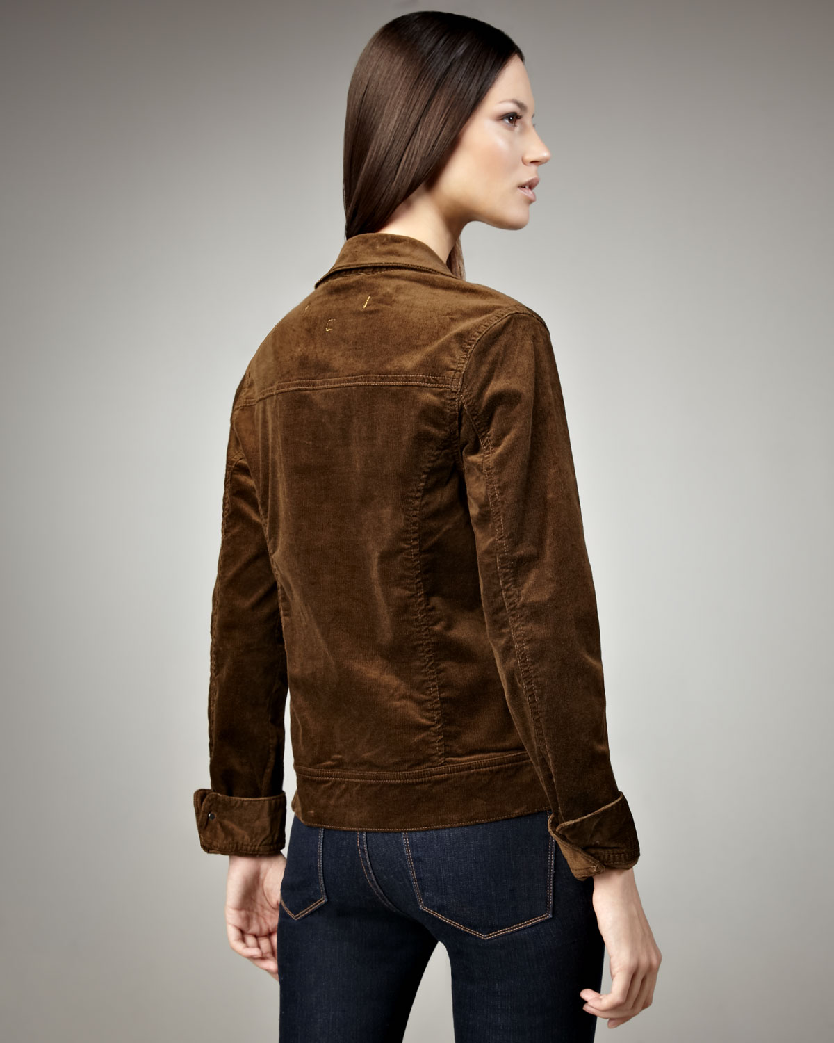 Christopher Blue Smith Corduroy Jacket In Brown Lyst