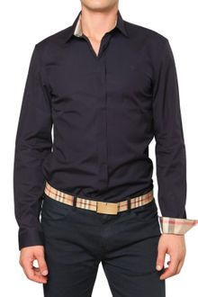 Burberry Brit Cotton Poplin Stretch Shirt - Lyst