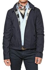 Burberry Brit Reversible Nylon & Cotton Sport Jacket - Lyst