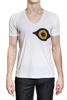Burberry Prorsum Fine Cotton Printed Jersey T-shirt - Lyst