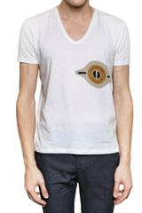 Burberry Prorsum Printed Fine Cotton Jersey T-shirt - Lyst