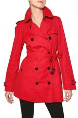 Burberry Mottram Cotton Gabardine Trench Coat - Lyst