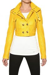 Burberry Holmbridge Nappa Short Leather Jacket - Lyst