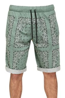 D&G Bandana Print Fleece Shorts - Lyst
