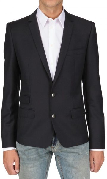 Dolce & Gabbana 67cm Dry Martini Saglia L Jacket in Blue for Men (navy) - Lyst