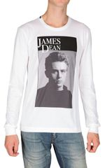 Dolce & Gabbana James Dean Long Sleeved Jersey T-shirt - Lyst