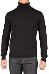 DSquared2 Turtleneck Wool Knit Sweater - Lyst