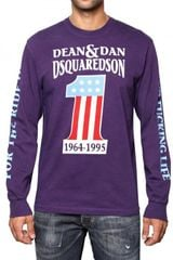 DSquared2 Dean & Dan Long Sleeve Jersey T-shirt - Lyst