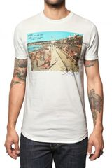 DSquared2 Cotton Jersey Cote Dazur T-shirt - Lyst