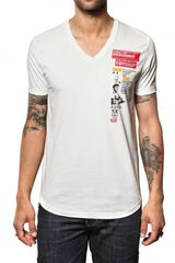 DSquared2 Cotton Jersey Muscle Print T-shirt - Lyst