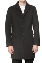 Jil Sander Pop Colour Lined Double Wool Coat - Lyst
