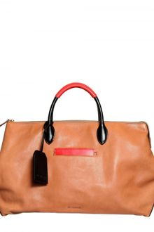 Jil Sander Soft and Smooth Leather Top Handle - Lyst