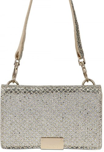 Jimmy Choo Glitter Fabric I-phone Case Shiulder Bag - Lyst