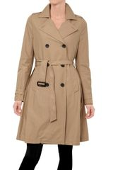 Kai Aakmann Light Cotton Gabardine Trench Coat - Lyst