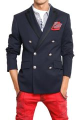 Pierre Balmain Cool Wool Double Breasted Jacket - Lyst