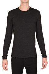 Ralph Lauren Nappa Patch Long Sleeved Jersey T-shirt - Lyst