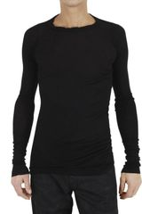 Rick Owens Cotton Jersey Long Sleeved T-shirt - Lyst