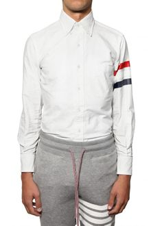 Thom Browne Classic Fit Oxford Cotton Shirt - Lyst