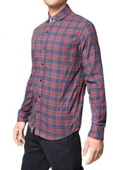 Tommy Hilfiger Checked Cotton Flannel Shirt - Lyst