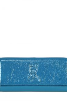Yves Saint Laurent Belle De Jour Patent Medium Clutch - Lyst
