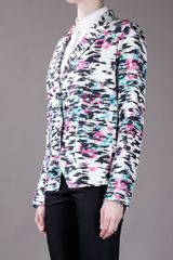 Balenciaga Printed Jacket in Multicolor (multi) - Lyst