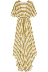 By Malene Birger Gema Striped Cotton-blend Maxi Dress - Lyst