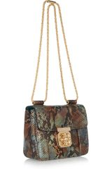 Chloé Elsie HandPainted Python Shoulder Bag in Multicolor (multicolored) - Lyst