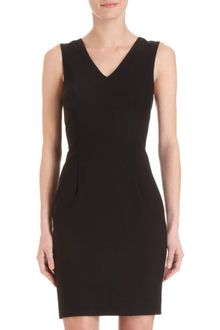 Co-op Barneys New York V-neck Sheath Dress - Lyst