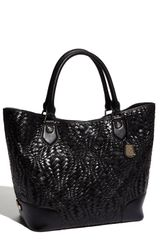 Cole Haan Optical Weave Triangle Tote - Lyst