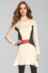 Elizabeth And James Paloma Colorblock Dress - Lyst