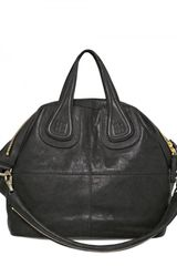 Givenchy Nightingale Medium Smooth Top Handle - Lyst