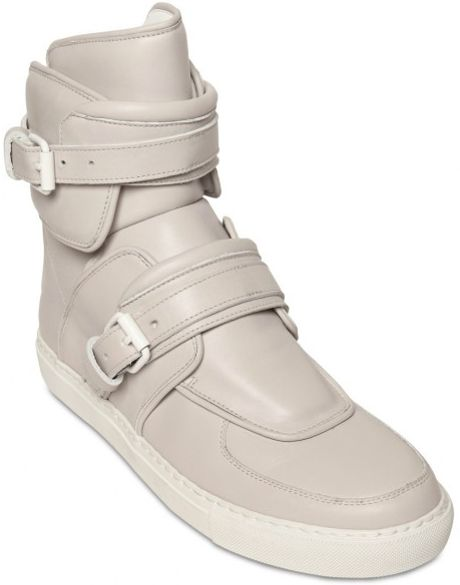 givenchy-grey-buckled-leather-high-top-s