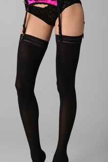Hanky Panky After Midnight Seductive Satin Garter Belt - Lyst