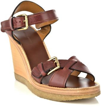 Isabel Marant Handy Wedge Shoes - Lyst