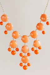 J.Crew Bubble Necklace - Lyst
