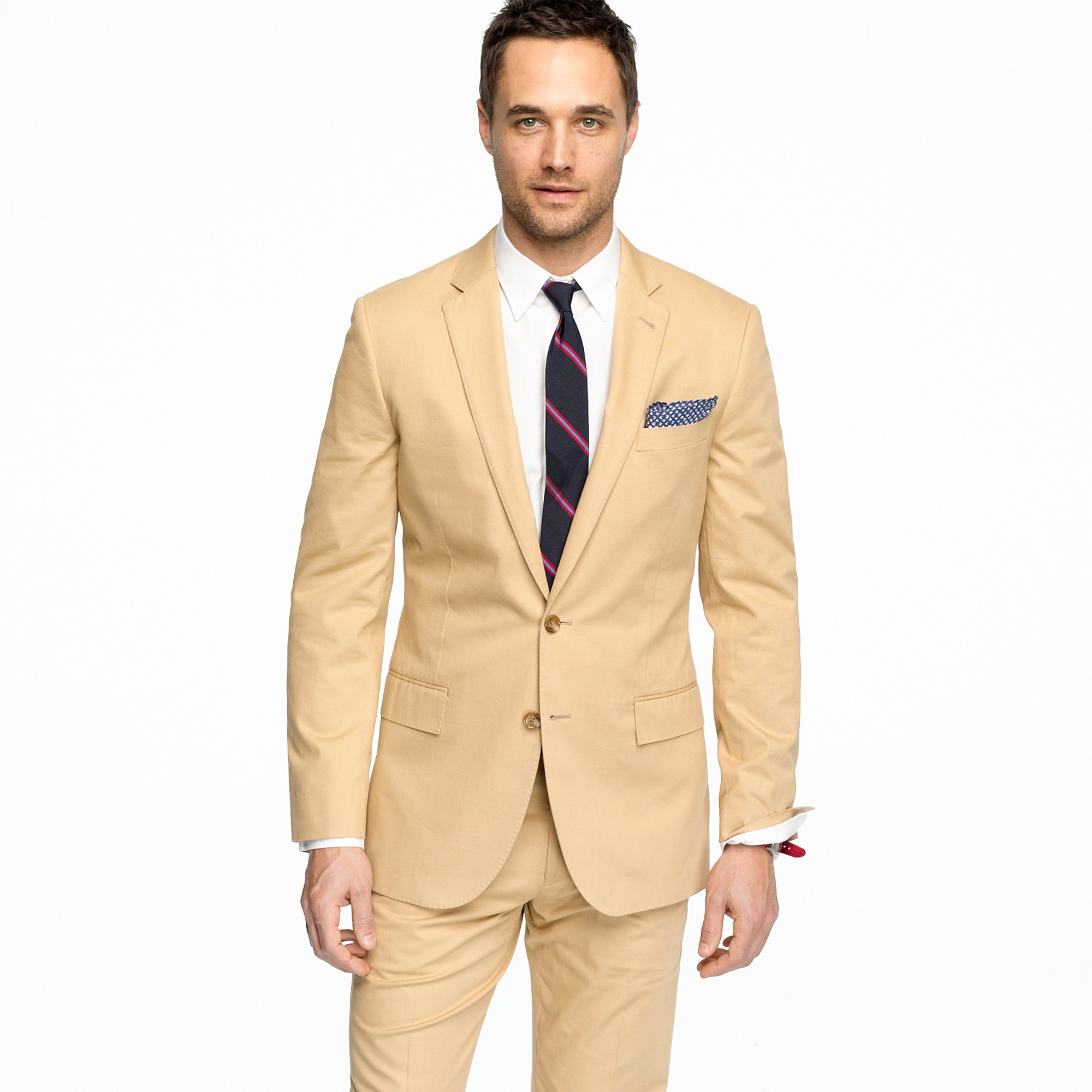 J.crew Ludlow Two-button Suit Jacket with Double-vented Back in